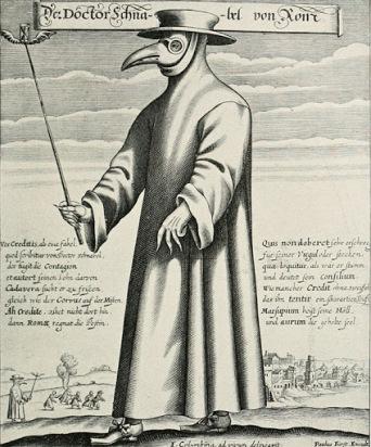 costume medecin de peste